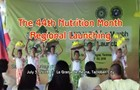 44th Nutrition Month Launching in Region 8