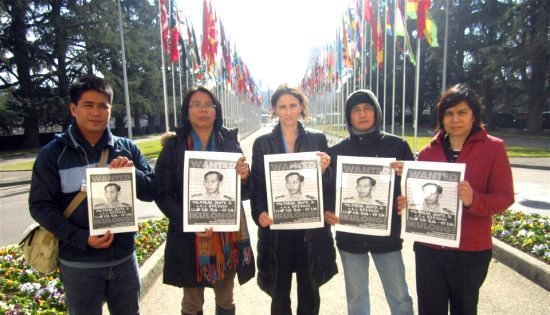 Filipino rights workers