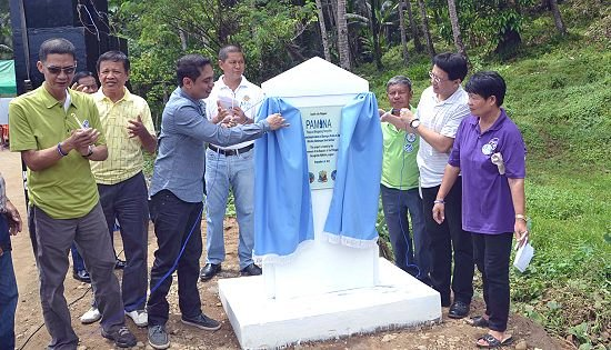 PAMANA Project inauguration in Northern Samar
