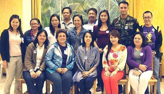 Peace Workshop for Women in Samar