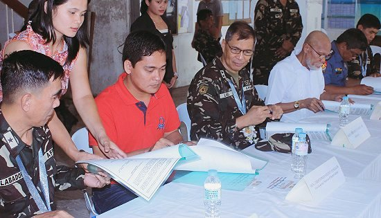 army-lgu eastern samar joint declaration signing