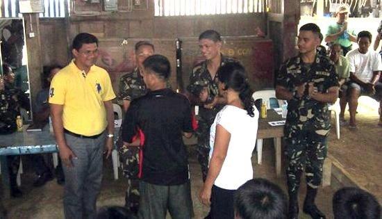 NPA surrenderee in Northern Samar