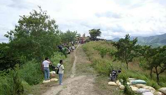 Site of the Maguindanao massacre