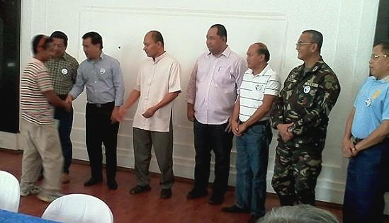 Leyte former rebels