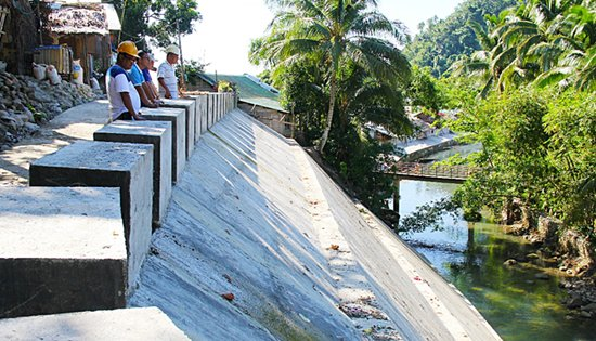 Caglanipao Flood Control project