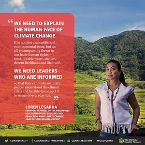 Loren Legarda on climate change