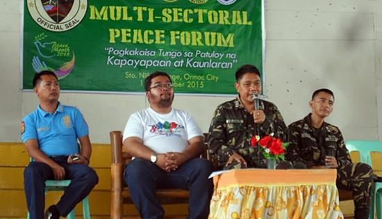 19th Infantry Battalion multi-sectoral peace forum