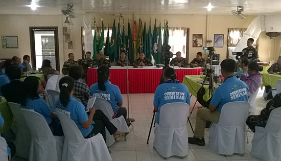 8ID press corps Army Transformation Roadmap seminar