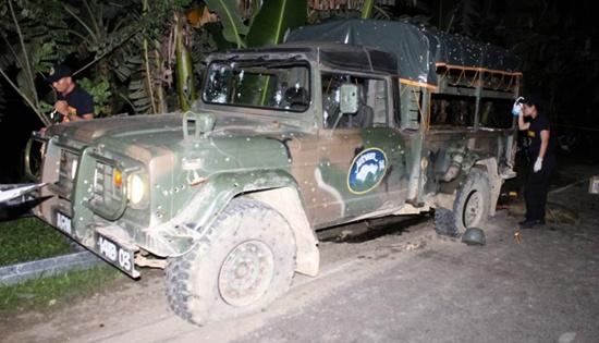 NPA ambush in Catbalogan