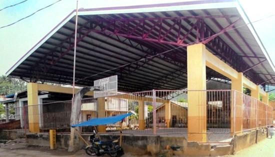 Biliran gymnasium construction