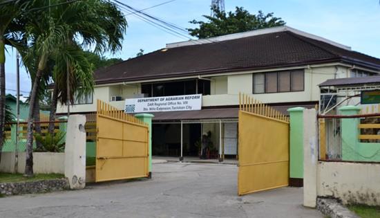 DAR 8 regional office in Tacloban