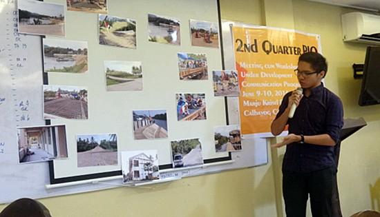 DPWH communication development program