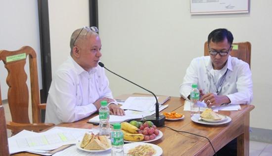 Newly designated OIC Assistant Regional Director Virgilio Eduarte