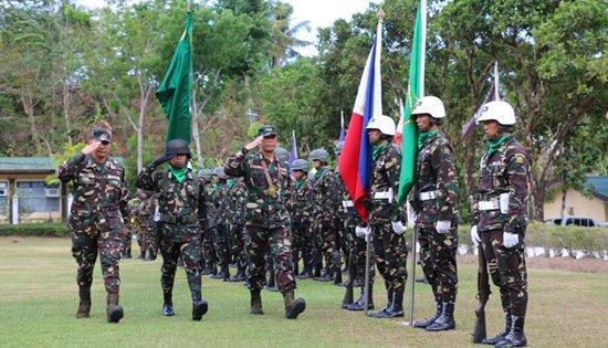 Maj. Gen. Rodolfo Demosthenes C Santillan visit to 8ID