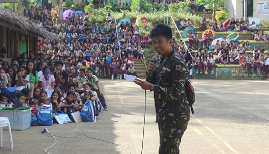 43rd Infantry Battalion Lakbay Kapayapaan Information Patrol