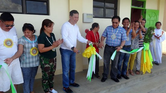 Turn-over ceremony of ICT High School of Eastern Biliran