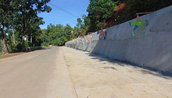 Slope Protection Structure along Biliran Circumferential Road