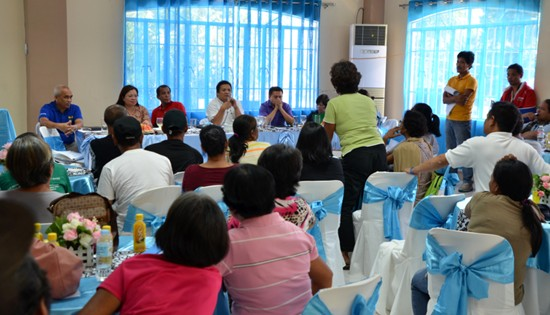 DAR dialogue in Palo, Leyte