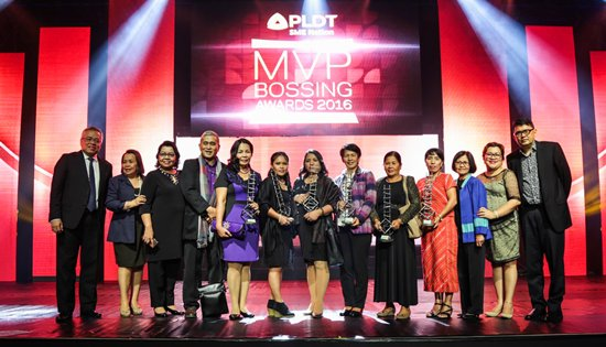 PLDT's MVP Bossing Awards 2016