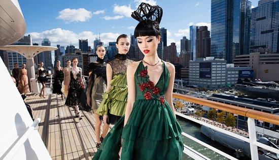 AIDAluna New York catwalk
