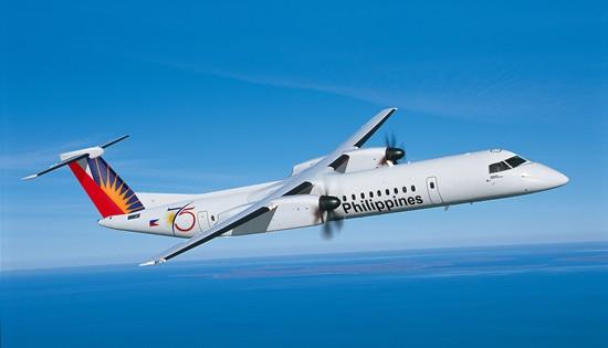 PAL Q400 aircraft