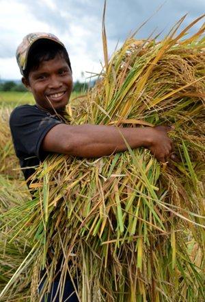 agrarian beneficiary Leonardo Nayon