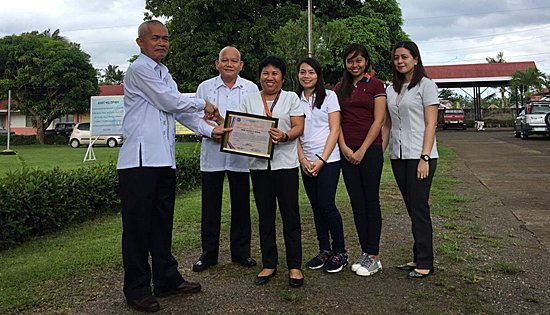 DPWH-Biliran DEO communication development program award