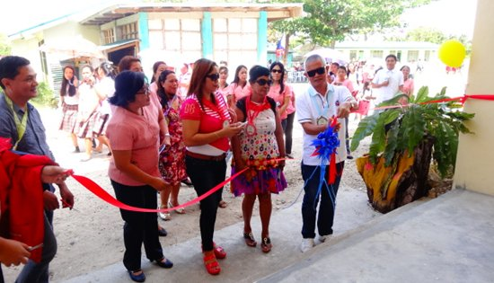 Turn-over of Higatangan National High School school building