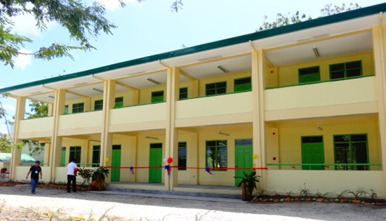 Higatangan National High School building