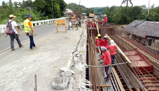 widening of Sapinit Viaduct