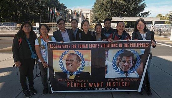 Philippine UPR Watch delegation
