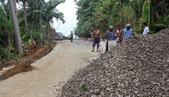 P50M Samar road project