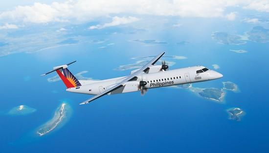 PAL Bombardier Q400 aircraft