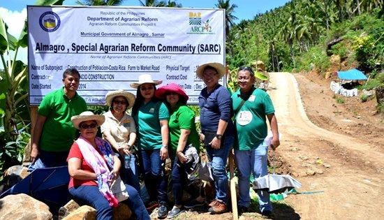Almagro, Samar DAR-8 project