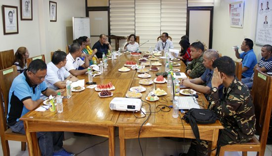 DPWH-PAMANA coordination meeting