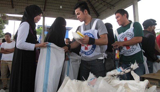ICRC relief in Marawi