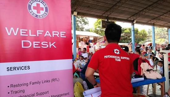 PRC welfare desk