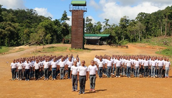 Philippine Army Candidate Soldier Course Class 511-2017