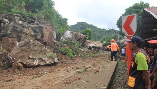 Calbayog rock falls
