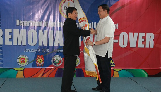 DILG turn-over ceremony