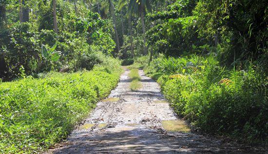 road to Mapaso Hot Spring