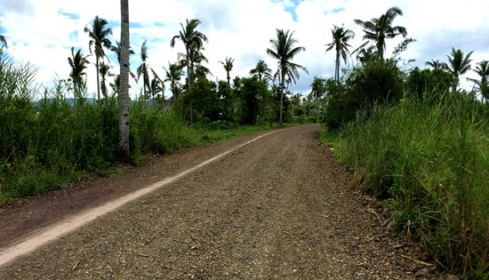 All-weather road in Barangay Salvacion, Alangalang, Leyte