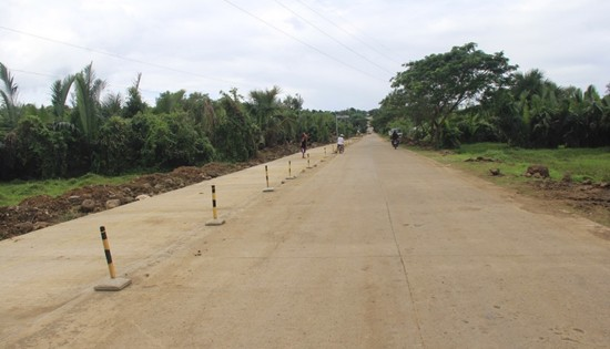Calbayog diversion road widening project