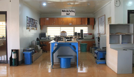 DPWH Samar I materials lab