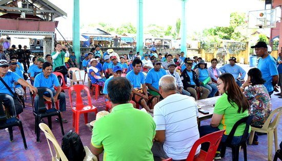 Sabang Bao Agrarian beneficiaries