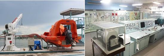 JICA donated training equipments