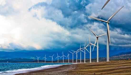 Bagui Wind Farm in Bangui, Ilocos Norte