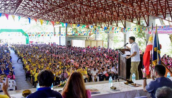 DPWH Secretary Mark A. Villlar in Biliran