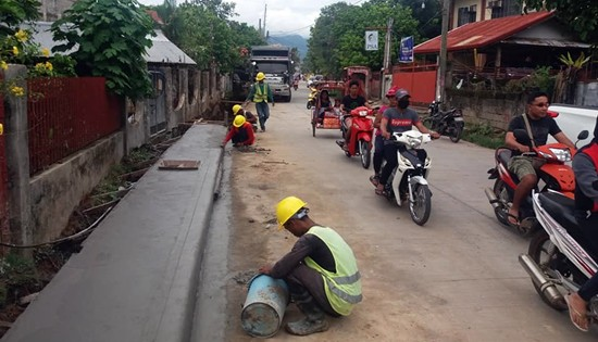 DPWH-Biliran on-going projects