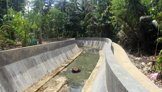 Calbayog flood control extension